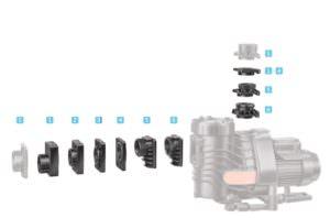 Anschlussset für Easy Fit und BADU Easy Fit Eco VS