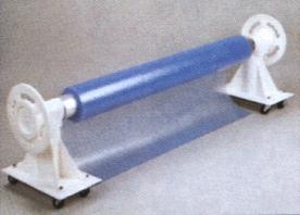 Aufrollvorrichtung Kunststoff TA 100 fahrbar.