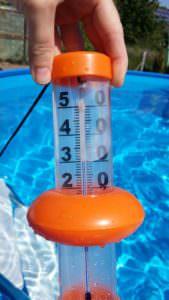 Badethermometer orange