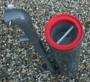 Einhängfilter mit Filterkorb und Kartuschen