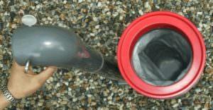 Bauka Einhängefilter mit Filtersack