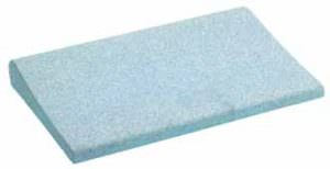 Beckenrandstein atlantikblau mit Schwallkante aus Beton