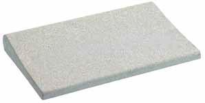 Beckenrandstein graphitgrau mit Schwallkante aus Beton