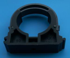 Befestigungsschelle 50mm mit Bügelclips