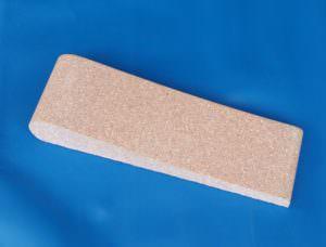 Beton Beckenrandstein rosa mit Schwallkante