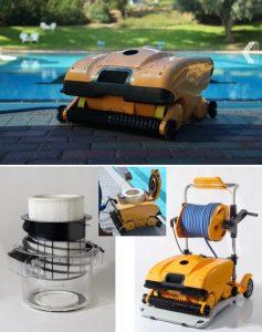 Dolphin Wave 200XL, 55 cm breit, Unterwasserreiniger für öffentliche Bäder sowie Therapie- und Hotelbäder.