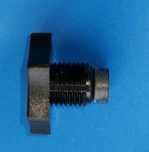 Entlüftungsschraube von T-Stück für Manometer am 6Wege Ventil oder Filterdeckel