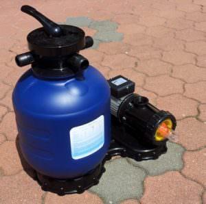 Kunststoffkessel Ø 330 mm,mit Pumpe Picco