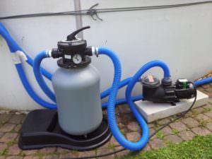 Kunststoffkessel HP 30 Ø 300 mm mit Pumpe HZS 300