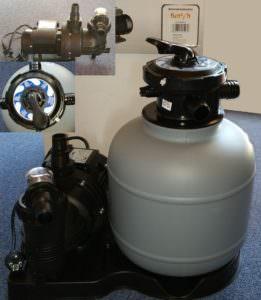Kunststoffkessel Ø 300 mm mit Pumpe SPS 75