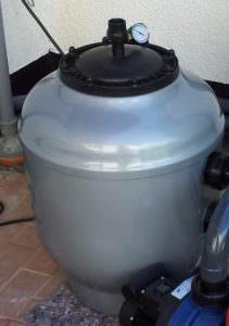 Filterkessel aus GFK Ø 450mm, 520mm, 610mm, 765mm, abnehmbarer Deckel