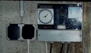Heizfiltersteuerung mit Zeitschaltuhr