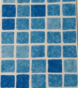 Folienfarbe Mosaik blau 0,8 mm