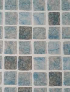 Folienfarbe Mosaik grau blau 0,8 mm