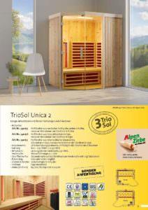 Infrarotkabine TrioSol Unica 2 Bild