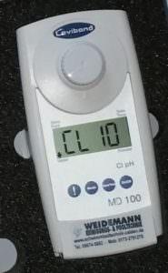 MD 100 Chlor u. pH-Wert