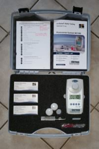 MD 100 Chlor u. pH-Wert im Koffer