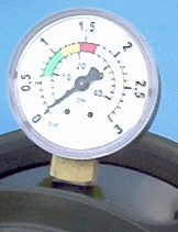 Manometer Senkrecht