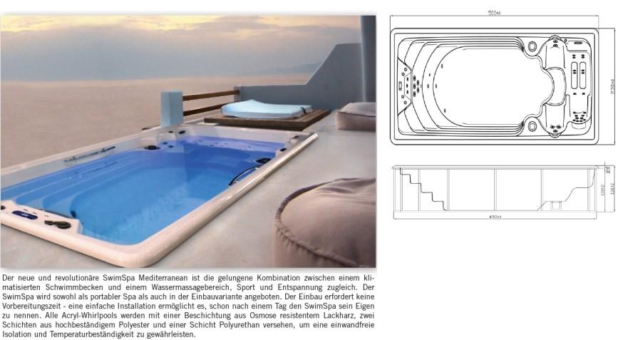 Eingebauter Whirlpool für innen und außen. › Weidemann ...