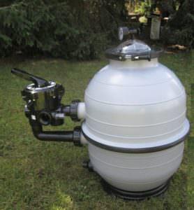 Filterkessel aus PP Ø 400 - 600mm, abnehmbarer Deckel