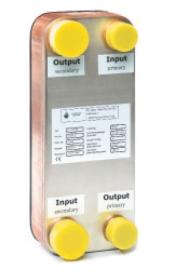 Plattenwärmetauscher gelötet für Niedertemperaturheizungen