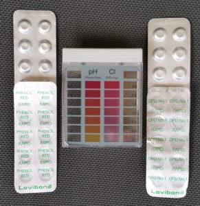 Pooltester Mini Chlor + pH-Wert