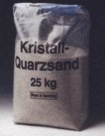 Quarzsand für Filteranlagen in den Körnungen 0,4 -0,8 und 0,7-1,25. Andere Körnungen auf Anfrage.
