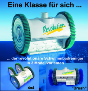 Unterwassersauger Revolution Modelle