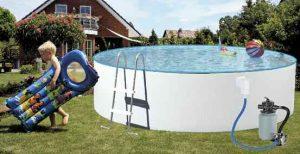 Rundbecken Splash 0,25 bzw 0,40 mm Innenhülle, preiswerter Einstieg