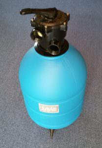 Kunststoffkessel Ø 400 mm, 6 Wege Top Ventil