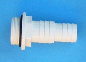 Schlauchtülle d 32-38 mm mit-O-Ring auf 1½ AG