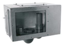 Skimmer A-201 aus V4A. Saugbreite ca. 190 mm, Einbautiefe ca. 240 mm, Sauganschluss Ø 63 mm, Überlauf Ø 50 mm. Das Skimmer – Einbauteil ist für die Montage eines Deckelaufsatzes vorbereitet. Der Einbau eines Wasserstandsreglers ist optional möglich. Mit Anschlussmöglichkeit für ein Erdungskabel.