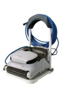 Smart ACTIVE Cleaner reinigt den Boden, Toploader mit Filterkartuschen