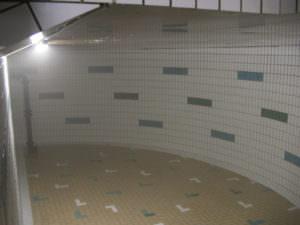 Trinkwasserkammer gereinigt.