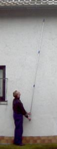 Teleskopstange ausgefahren