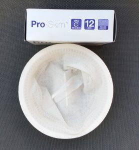 feinmaschiger Skimmerkorbüberzug, Ø 24 cm mit 250-300 Micron zum Verbessern der Filterung
